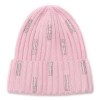 Нежно розовая шапочка для девочки sh1529 Chobi