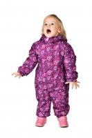 Весенний комбинезон для девочки PreMont цвет фиолетовый
