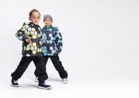 Демисезонный комплект Крокид с утеплителем для мальчиков цвет серо-голубой