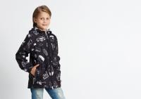 Демисезонная куртка Крокид для мальчика цвет черный