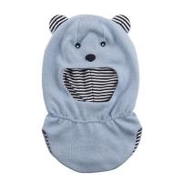Шлем хлопковый для мальчика Chobi chic SH-1036 цвет голубой