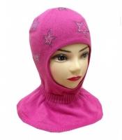 Шлем хлопковый для девочки Chobi chic SH-1102 цвет пинк